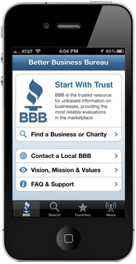 BBB iPhone Screen